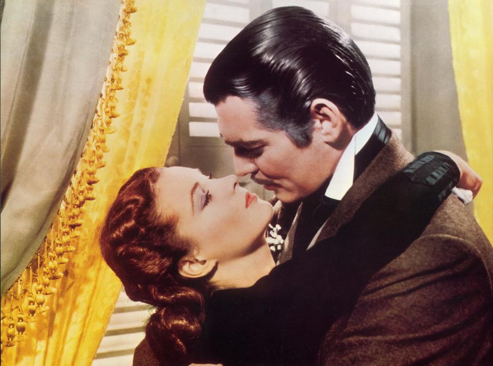 """Clark Gable und Vivian Leigh in """"Vom Winde verweht"""" (imago/United Archives)"""