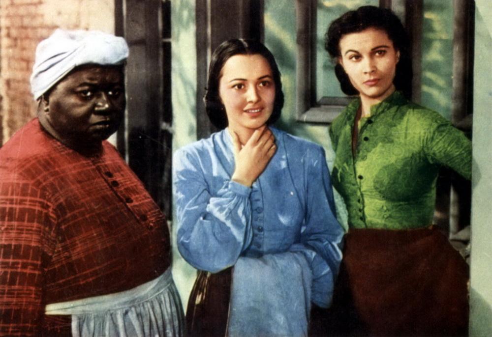 Unterschiedliche Welten: Hattie McDaniel, Olivia de Havilland, Vivien Leigh (v.l.)