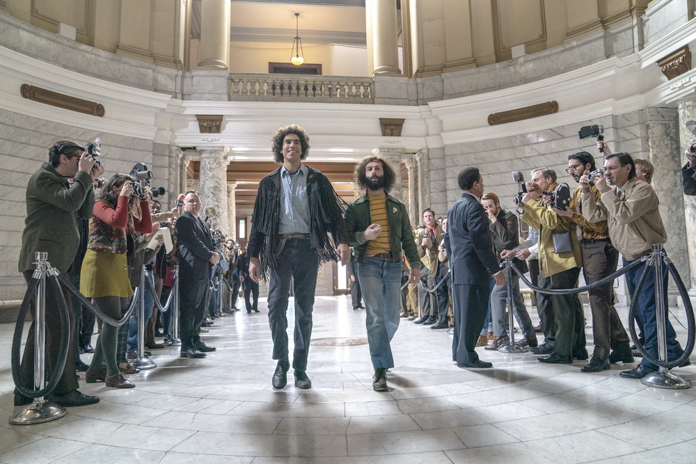 """""""The Trial of the Chicago 7"""" (© Niko Tavernise/Netflix)"""