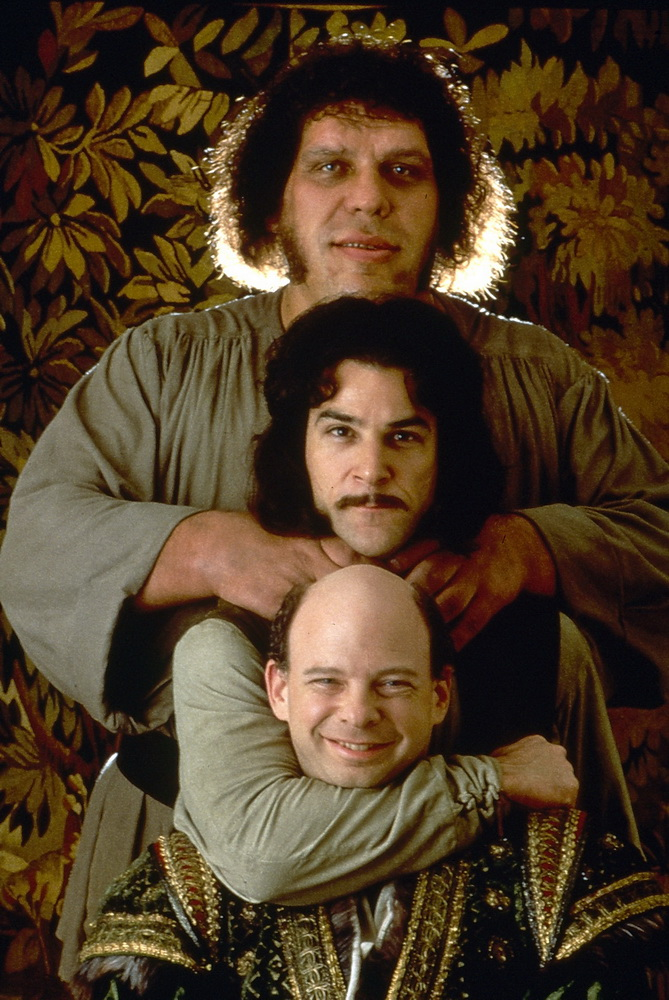 André the Giant, Mandy Patinkin, Wallace Shawn