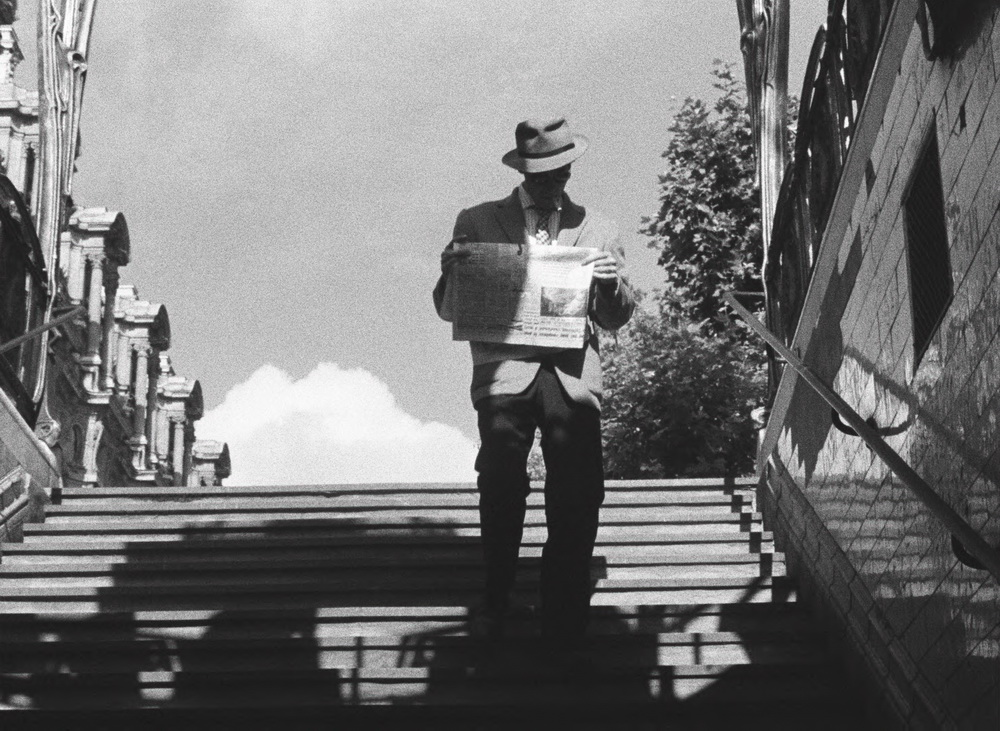 Eine der Innovationen des Films ist der Außendreh im Pariser Alltag.