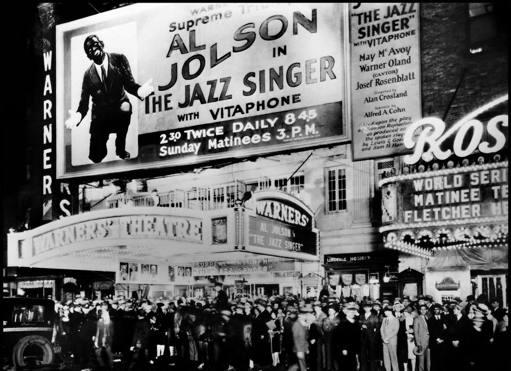 """Schlüssige Perspektive: """"The Jazz Singer"""" (imago images/United Archives)"""