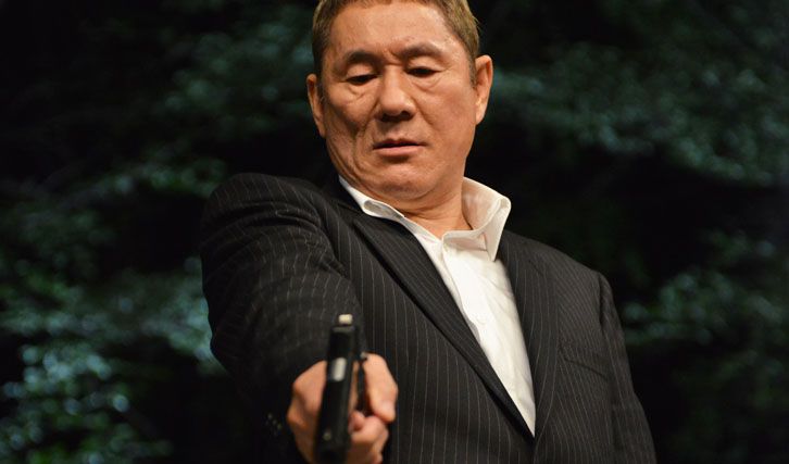 """Takeshi Kitano in """"Outrage Beyond"""" (© Capelight)"""