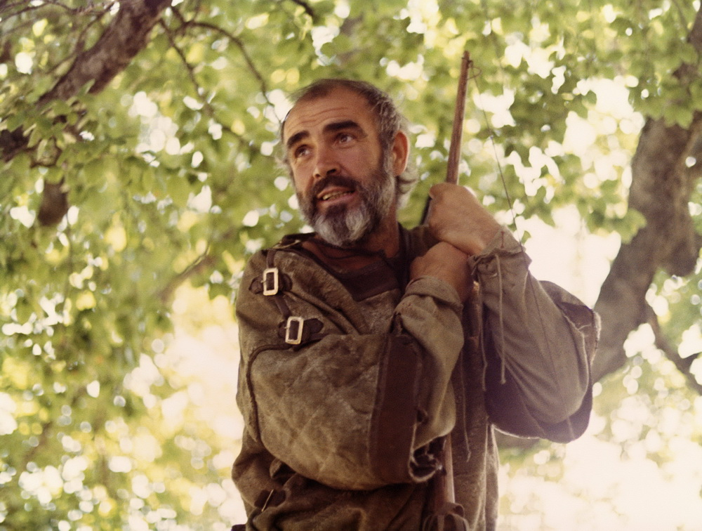 """Sean Connery als gealterter Robin Hood in """"Robin und Marian"""" (© imago images / Everett Collection)."""