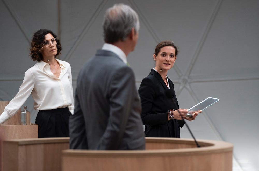 """Die Emotionalität des Faktischen: """"Ökozid"""" setzt statt auf Drama auf Argumente und Gegenargumente (© rbb/zero one film/Julia Terjung)"""