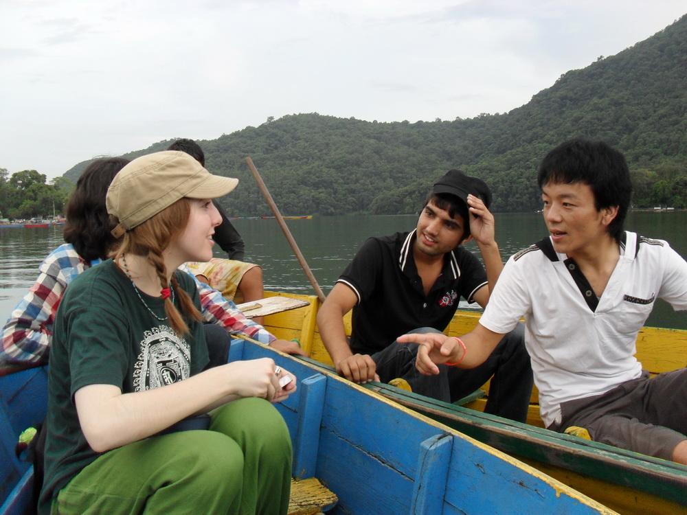 Slater Jewell-Kemker bei ihren Reisen (BJF)