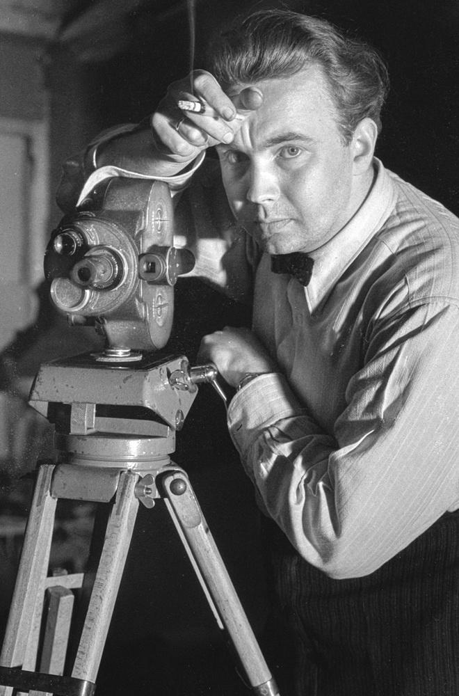 Opfer der Riefenstahl'schen Karriere: der Kameramann Willy Zielke (Dieter Hinrichs)