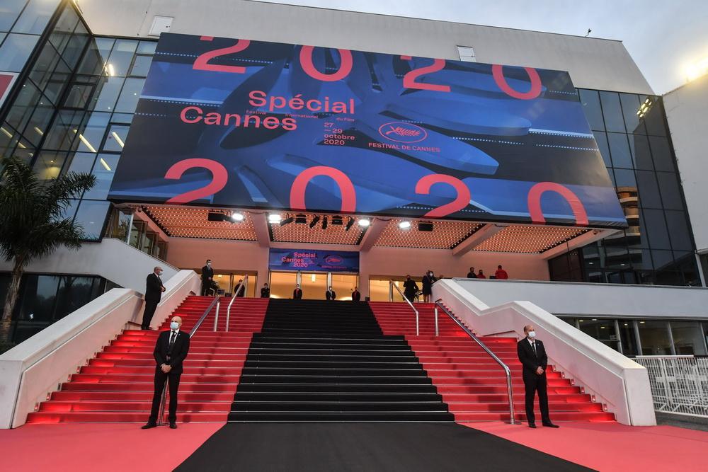 """Corona-Schrumpfversion: Die """"Edition speciale du Festival de Cannes"""" (imago images/Starface"""