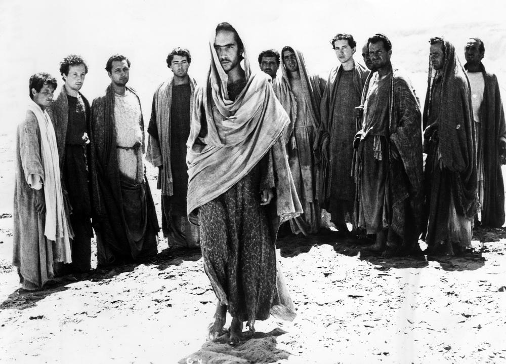 """Pasolinis """"Das 1. Evangelium - Matthäus"""" spielt vielfach eine Rolle (imago/Everett Coll.)"""