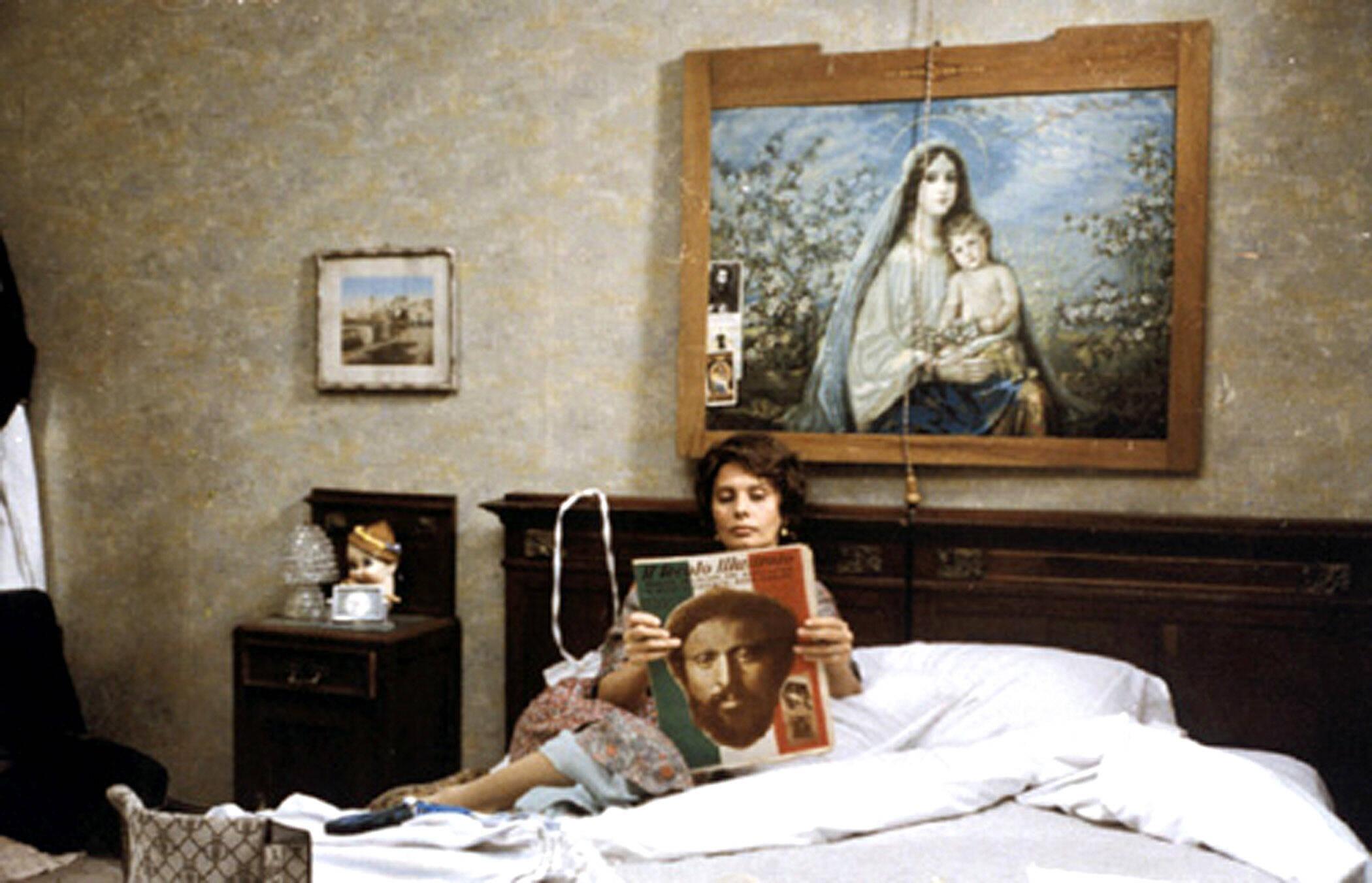 """Es brodelt: Sophia Loren in """"Ein besonderer Tag"""" (imago/Everett Collection)"""