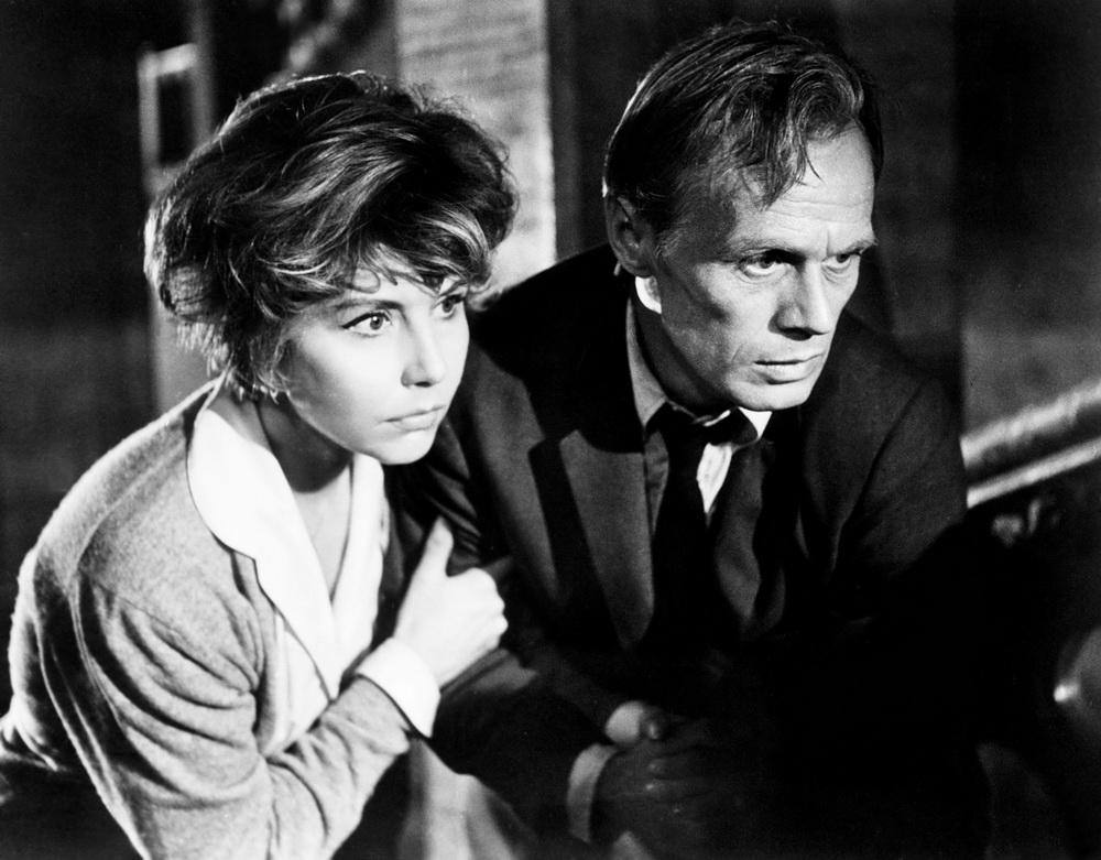 """Sonja Ziemann und Richard Widmark in """"Geheime Wege"""" (imago/Everett Collection)"""