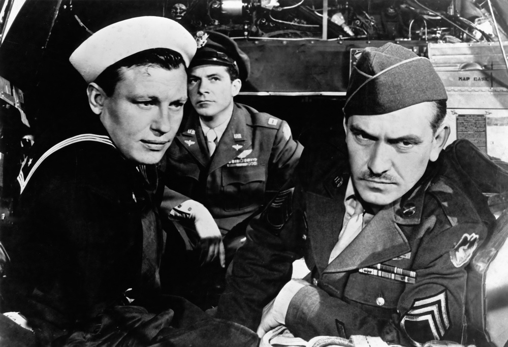 Dana Andrews, Fredric March, Harold Russell