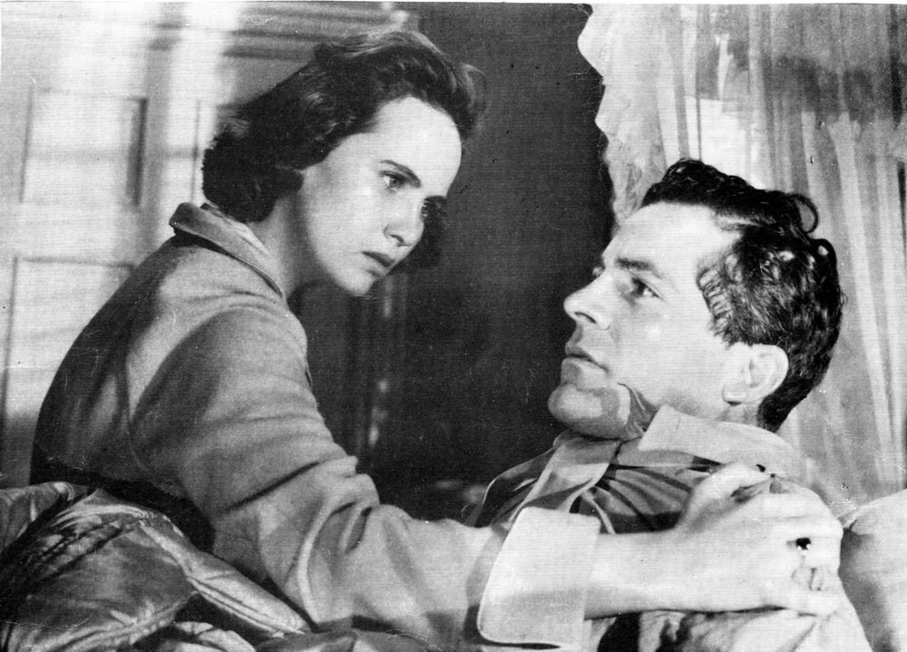 Dana Andrews, Teresa Wright