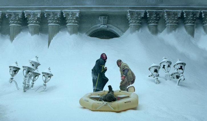 """Die Menschheitskultur versinkt im Schnee: """"The Day After Tomorrow"""" (© Twentieth Century Fox)"""