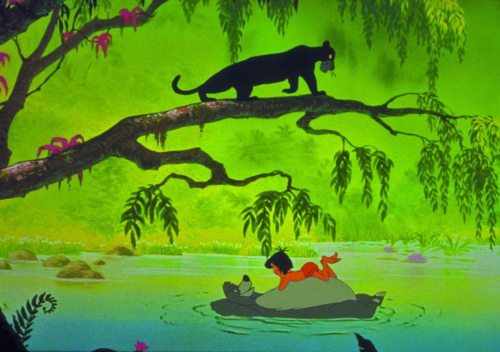 """Stand auch am Ende einer Umbruchsphase: """"Das Dschungelbuch"""" (Walt Disney)"""