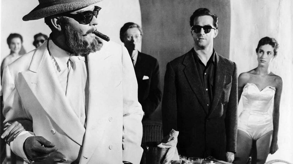 """Wer miaut hier und wer piept? Orson Welles (l.) in """"Mr. Arkadin"""" (NSM Records)"""