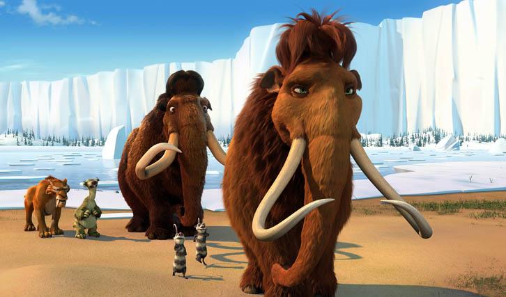 """Die wachsende diverse Tier-Großfamilie in """"Ice Age"""" wurde zum Erfolgsgarant (© IMAGO / CInema Publishers Collection)"""
