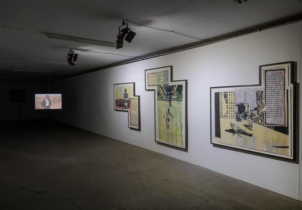 Ausstellungsansicht (© Ludger Paffrath, Courtesy Ebensperger)