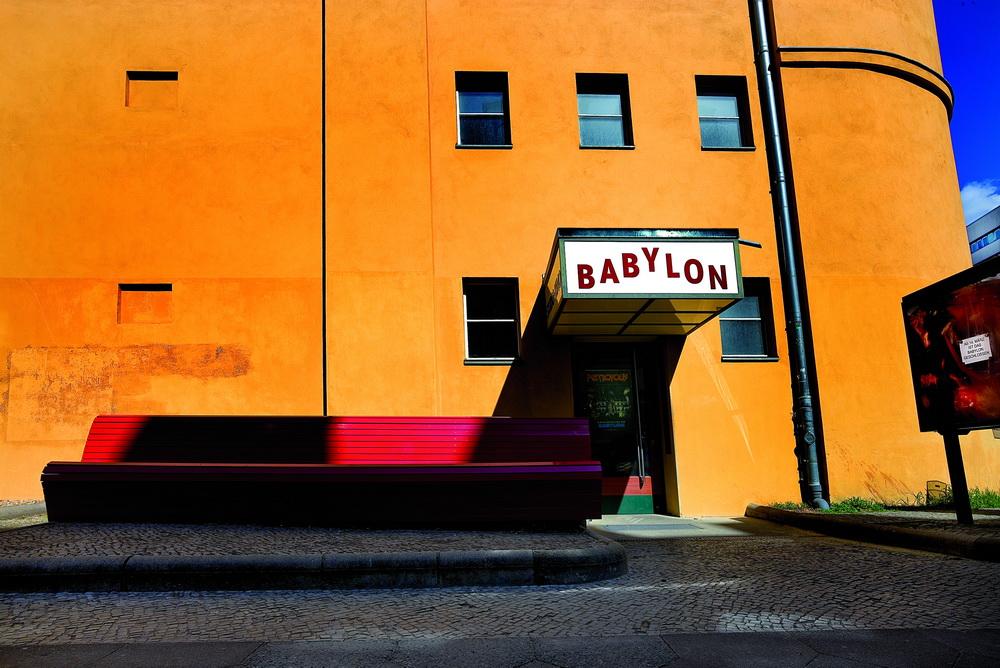 """Das """"Babylon"""" im Corona-Dornröschenschlaf (© Zweitausendeins/Beat Presser/Danit)"""