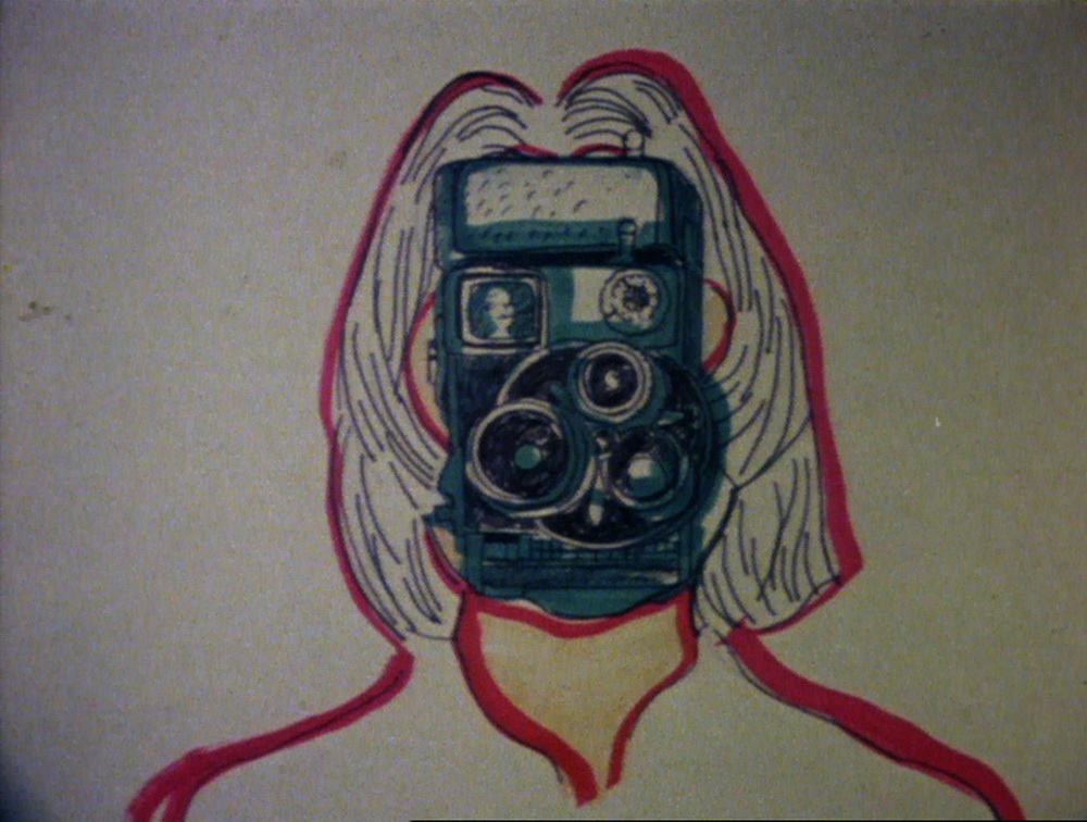 """""""To look for a better half"""": Maria Lassnig in """"Selfportrait"""" (1971; sixpackfilm)"""