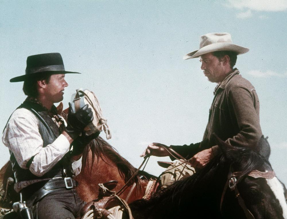 """Ein ungewöhnlicher Zugriff aufs Westerngenre: """"Das Schießen"""" mit Jack Nicholson und Warren Oates (© Paragon Movies)"""