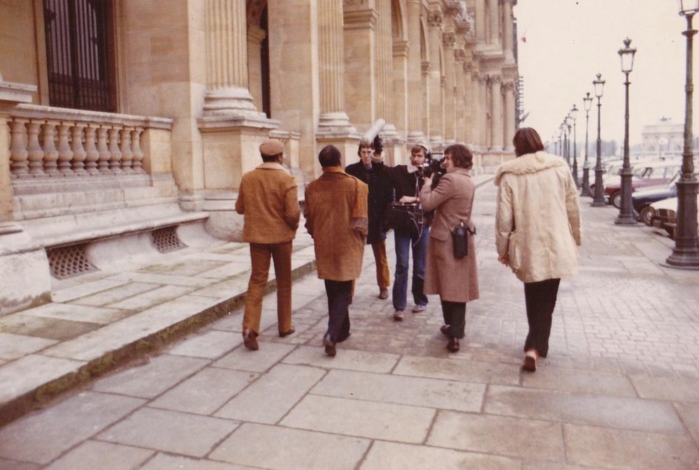Dreh im Paris der 1970er (© MUBI)