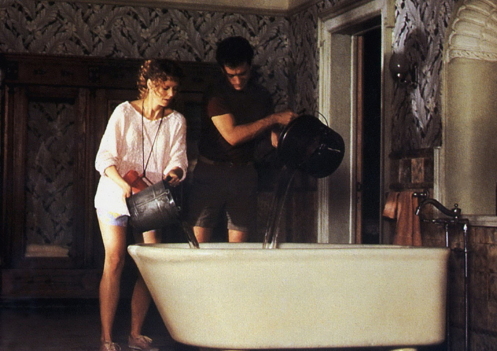 """Shelley Long und Tom Hanks in """"Geschenkt ist noch zu teuer"""" (imago/United Archives)"""