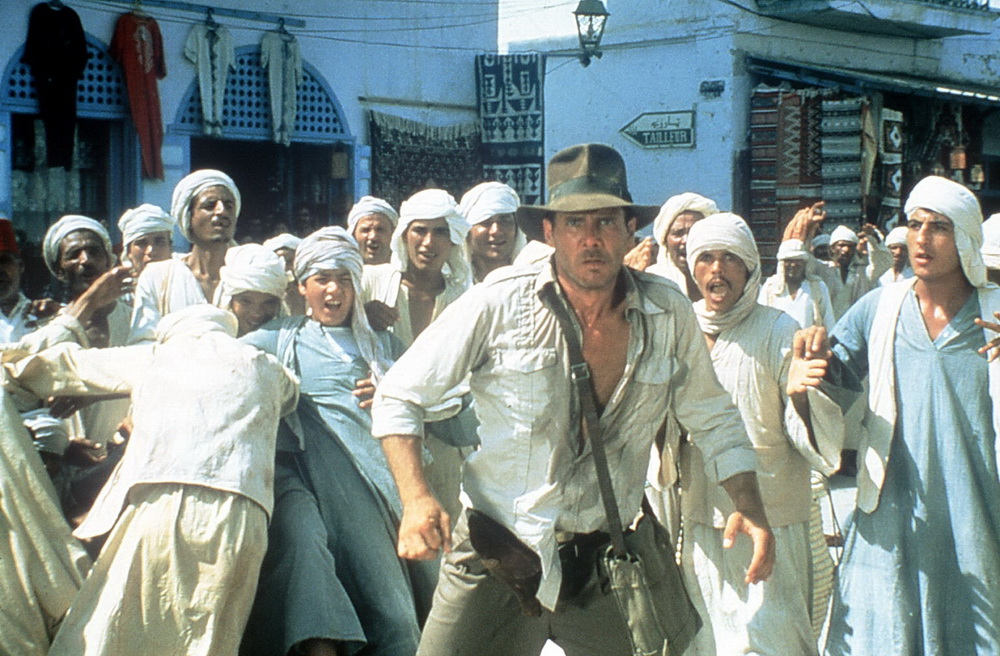 """Ganz am Anfang: Harrison Ford in """"Jäger des verlorenen Schatzes"""" (UPI)"""
