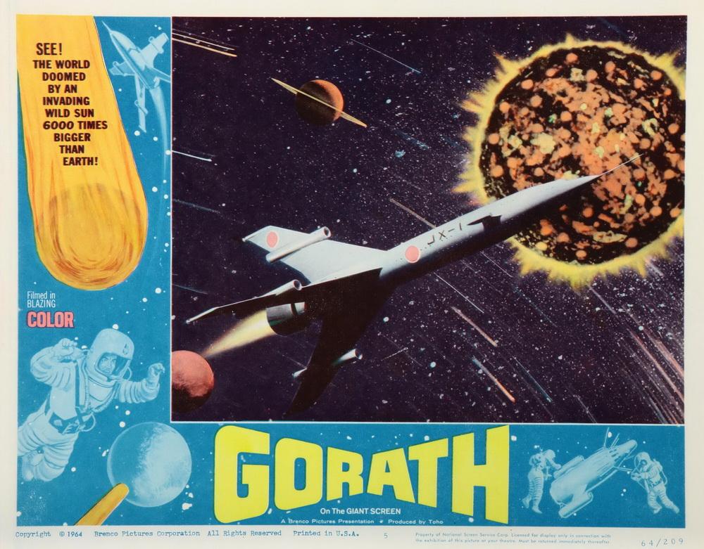 """""""Gorath - Ufos zerstören die Erde"""" von Isido Honda (imago/Everett Collection)"""