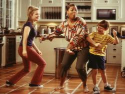 Queen Latifah, Kimberly J. Brown, Angus T. Jones