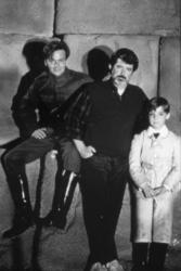 Sean Patrick Flanery, George Lucas, Corey Carrier