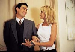 Nicollette Sheridan, Nathaniel Parker