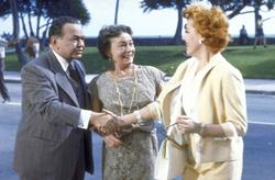 Edward G. Robinson, Eleanor Parker, Thelma Ritter