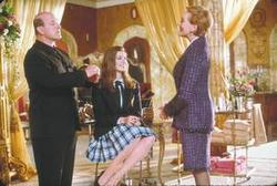 Julie Andrews, Anne Hathaway, Larry Miller