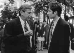 David Duchovny, William B. Davis