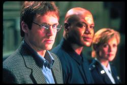 Michael Shanks, Amanda Tapping, Christopher Judge