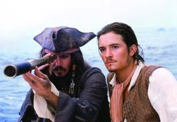 Johnny Depp, Orlando Bloom