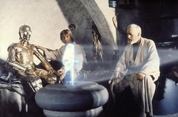 Mark Hamill, Alec Guinness, Anthony Daniels