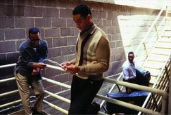 Jamie Foxx, Clifton Powell, Harry J. Lennix