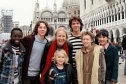 Rollo Weeks, Aaron Johnson, George MacKay, Jasper Harris, Alice Connor, Lathaniel Dyer, Cornelia Funke