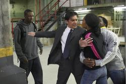 Antonio Banderas, Rob Brown, Elijah Kelley, Yaya DaCosta
