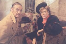 David Niven, Maggie Smith