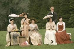 Anne Hathaway, Julie Walters, Lucy Cohu, Laurence Fox