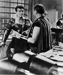 Richard Burton, Victor Mature