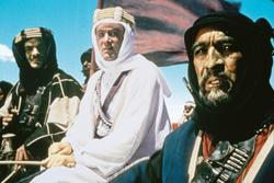 Peter O'Toole, Anthony Quinn, Omar Sharif