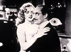 Groucho Marx, Marilyn Monroe