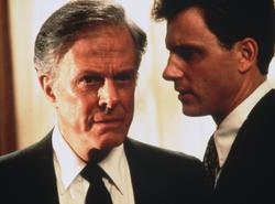 Mr. President (Robert Culp) und sein Berater Coal (Tony Goldwyn)