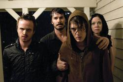 Garret Dillahunt, Riki Lindhome, Aaron Paul, Spencer Treat Clark