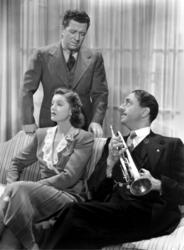 William Powell, Myrna Loy, Frank McHugh
