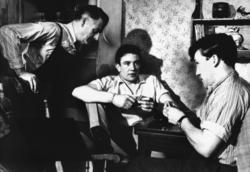 Albert Finney, Norman Rossington, Frank Pettitt
